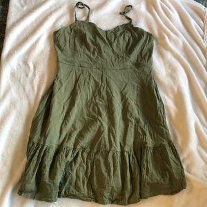 Khaki green Cami dress